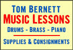 Tom Bernett Music & Drums
