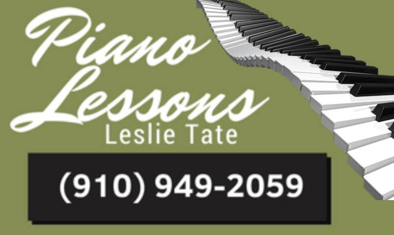 piano lessons leslie tate moore county nc