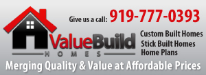 Value Build Homes Moore County NC home construction