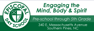 Episcopal Day School private schools in pinehurst and southern pines NC